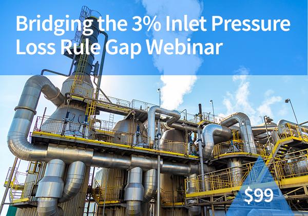 Bridging the 3% Inlet Pressure Loss Rule Gap Webinar