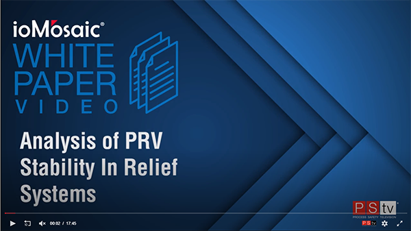 Analysis of PRV Stability In Relief Systems Videos