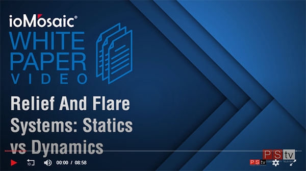 Relief and Flare Systems Statics vs Dynamic Videos